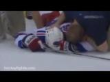 Жесткие травмы в хоккее